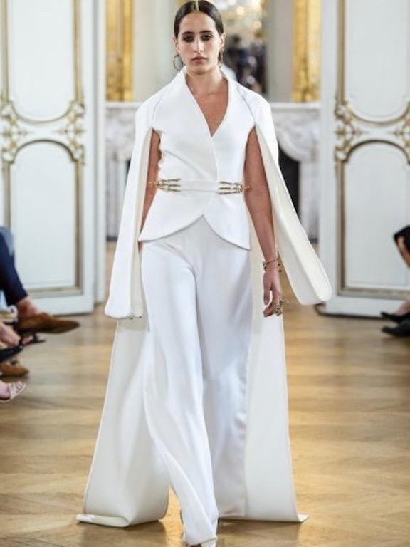 تاليدا تامر في عرض أزياء أنطونيو غريمالدي