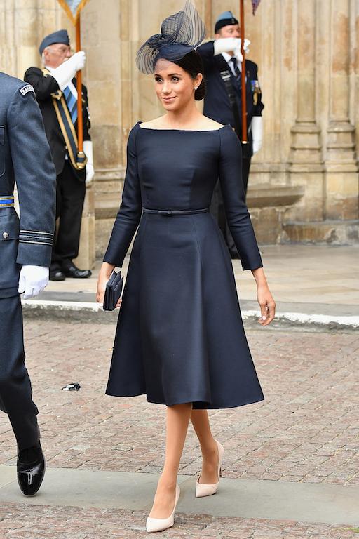 ميغان ماركل في فستان أسود من ديور