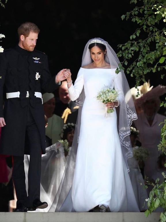 فستان زفاف ميغان ماركل الأشهر عالميًّا