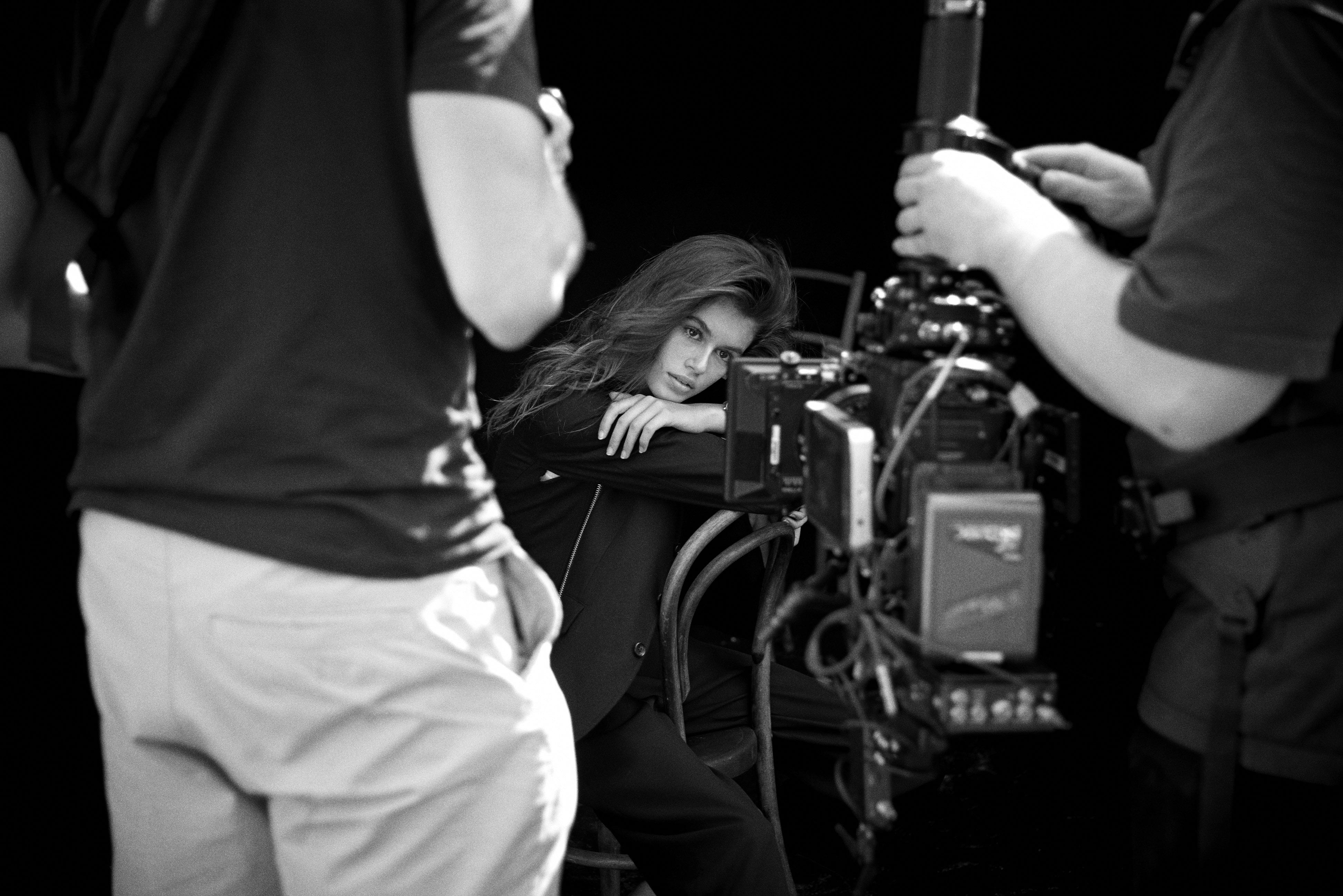 كايا غربر الوجه الإعلاني لساعات أوميغا