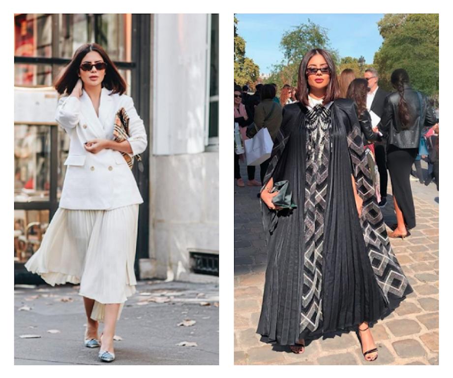 ديما الأسدي في أسبوع الموضة في باريس