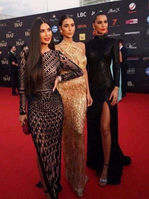 الأخوات عبد العزيز في حفل البياف