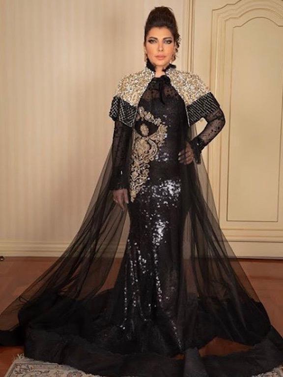 أصالة نصري في فستان من تيما عابد