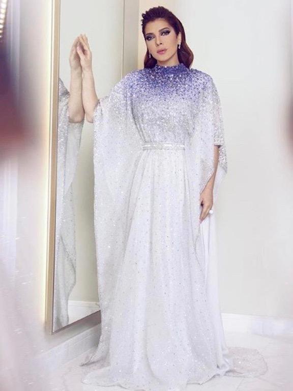 أصالة نصري في فستان ترتر من لابورجوازي