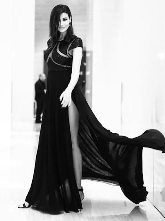ريم سعيدي في فستان من جورج حبيقة