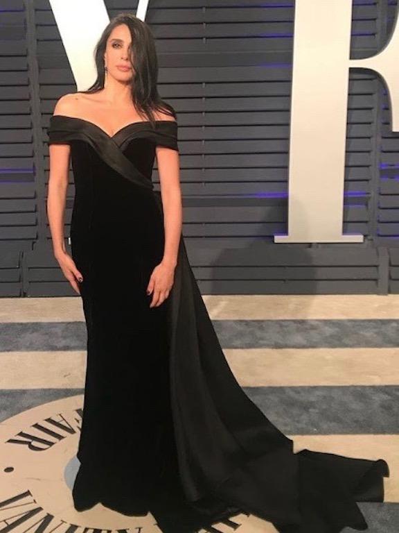 """نادين لبكي في فستان مخمل من """"رالف أند روسو"""""""