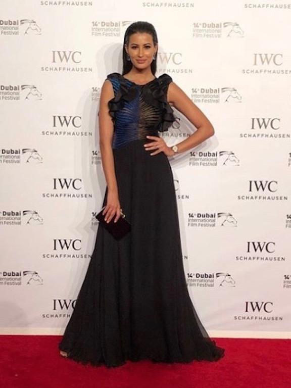 ريم سعيدي في فستان رامي قاضي