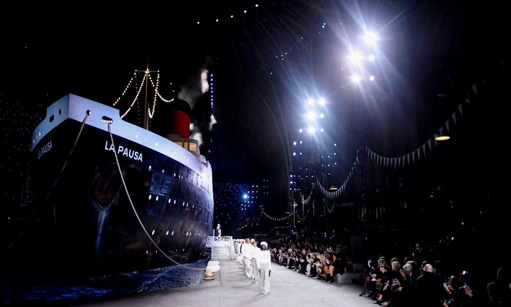 شانيل كروز 2018 على سفينة لابوزا