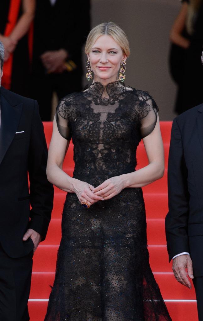 كايت بلانشيت في مهرجان كان 2018
