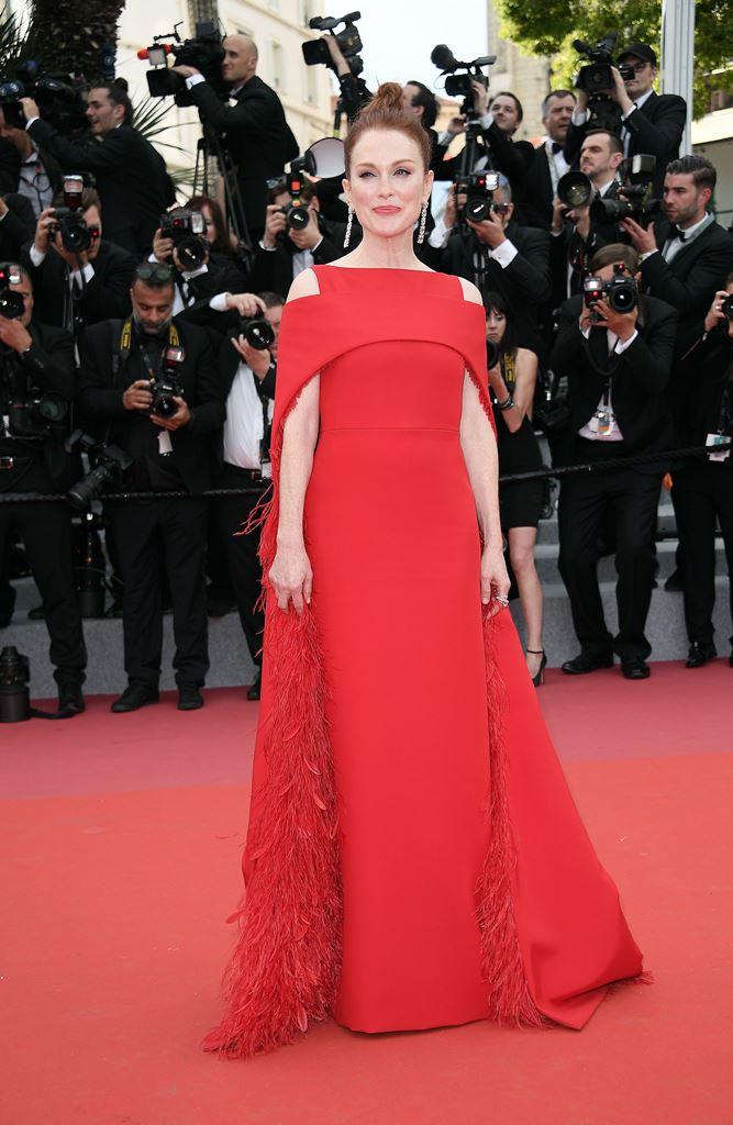 جوليان مور في مهرجان كان 2018