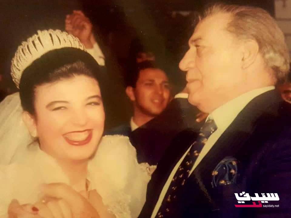 رانيا ترقص مع والدها في زفافها