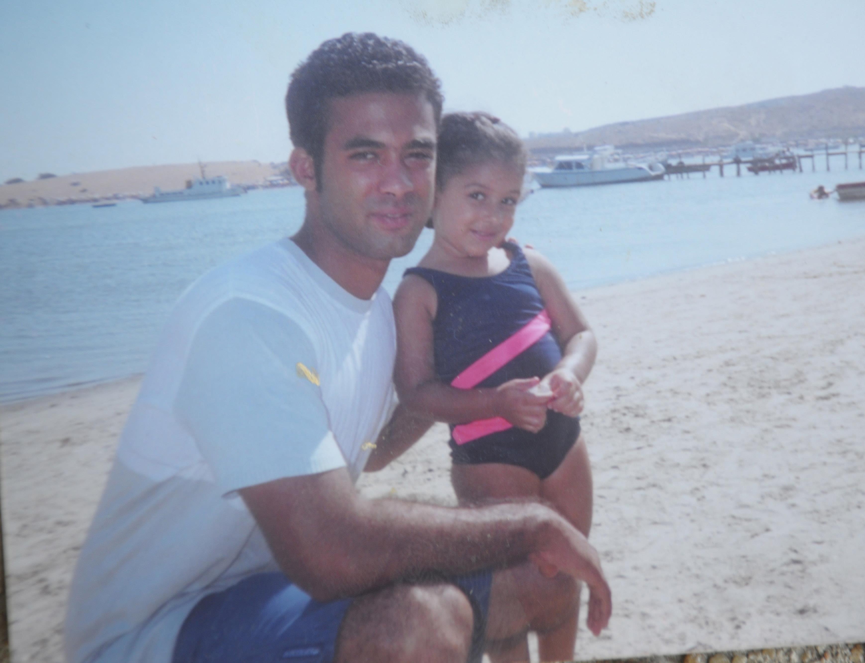 هيثم مع ابنة خاله