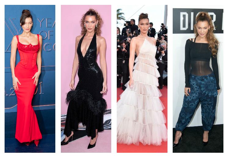 Les plus beaux looks à la mode de Gigi Hadid et Bella en 2019