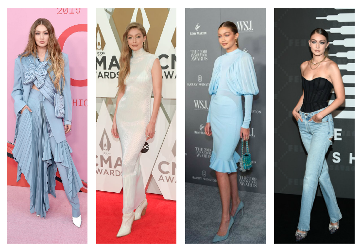 The best fashionable looks of Gigi Hadid and Bella in 2019