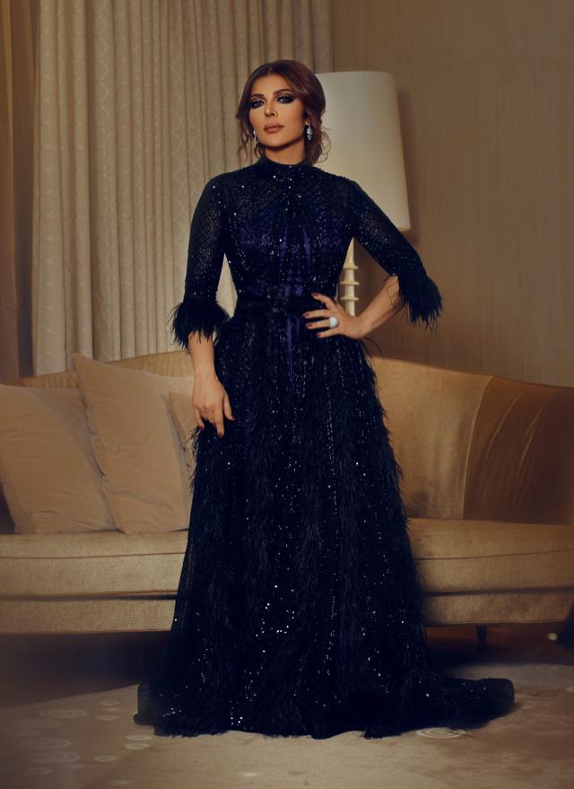 فستان فاخر من لابورجوازي تألقت به أصالة نصري