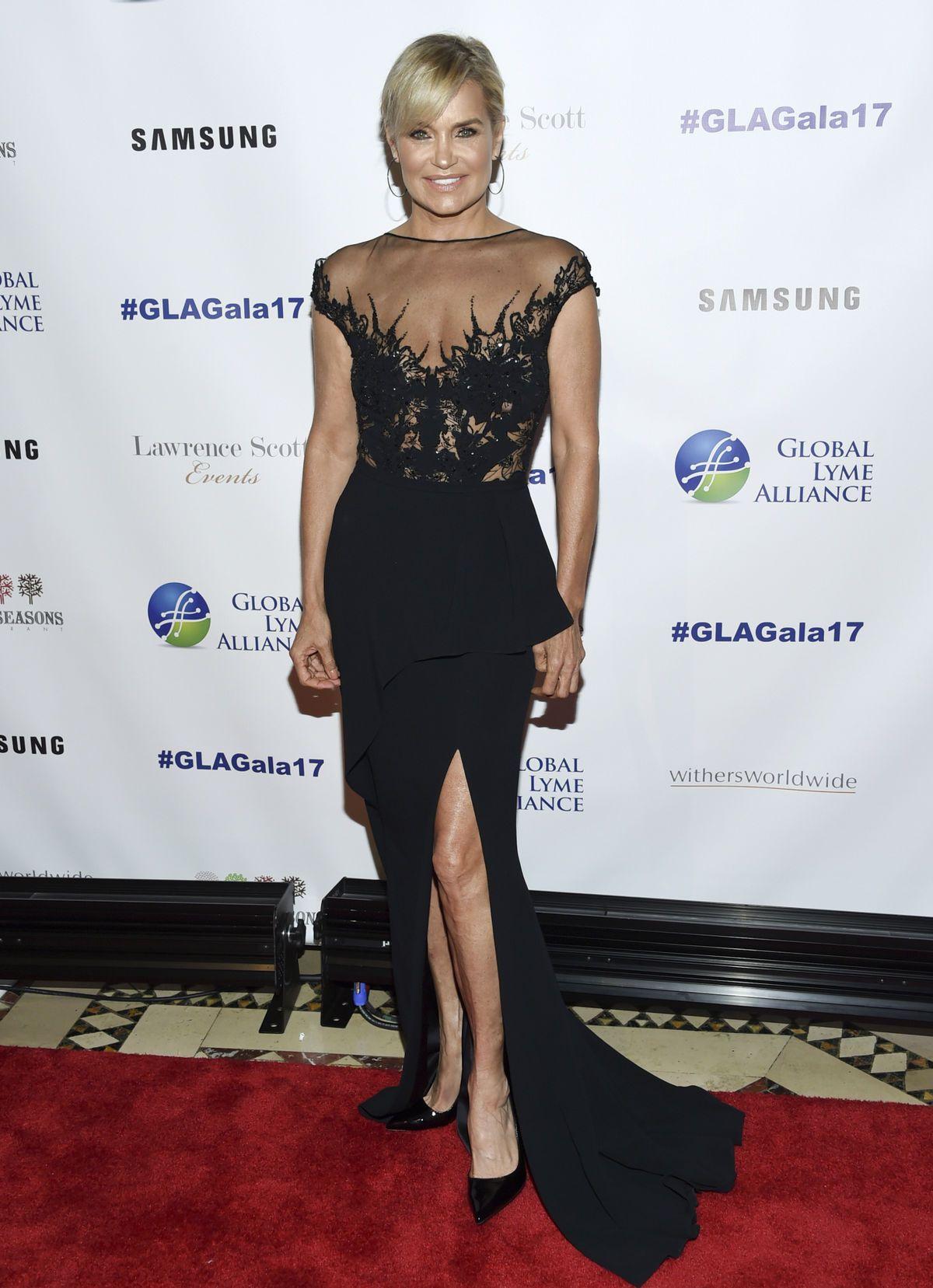 اطلالة راقية في فستان أسود تألقت بها يولندا حديد