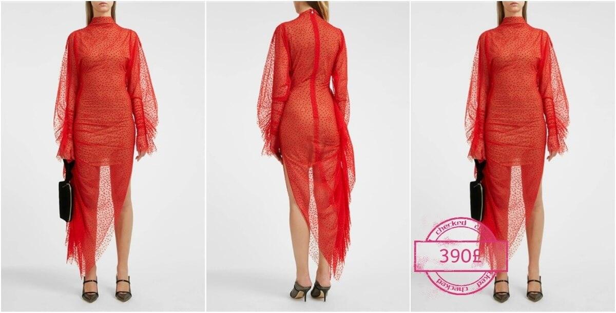 صورة داخلية لفستان هيفاء