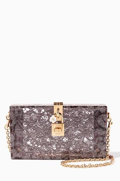 -حقيبة كلاتش من دولتشي اند غابانا Dolce&Gabbana لسهرة العيد