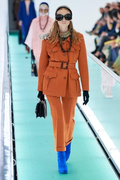 بدلة بالجيوب البارزة من غوتشي Gucci