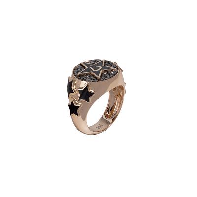 خاتم من الذهب والمينا من بالعربي Bilarabi
