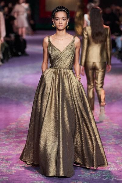 فستان بقصة A-Line من كريستيان ديور Christian Dior