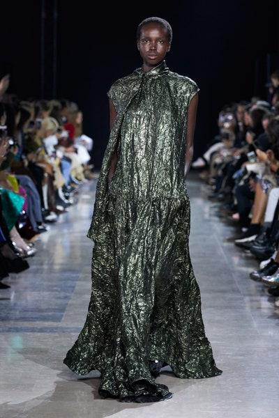 فستان سهرة واسع من روشا Rochas