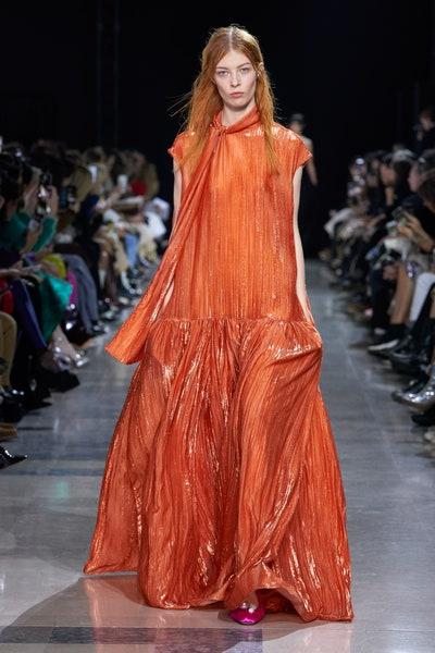 فستان واسع لإطلالة مسائية من روشا Rochas