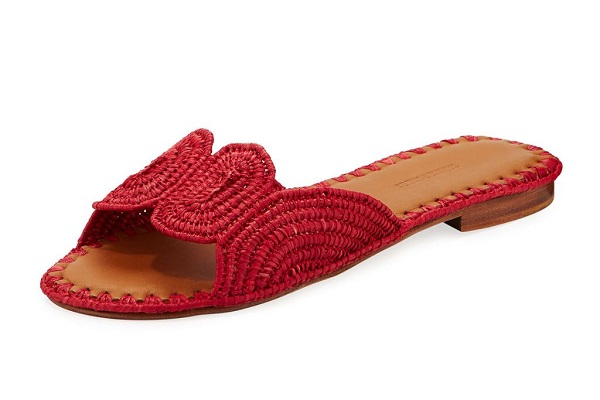 حذاء من القش من Carrie Forbes Naima