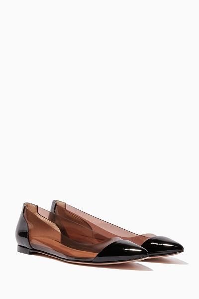 أحذية فلات من جيانفيتو روسي آخر موضة للجامعة