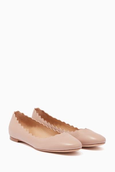 أحذية فلات من كلوي آخر موضة للجامعة