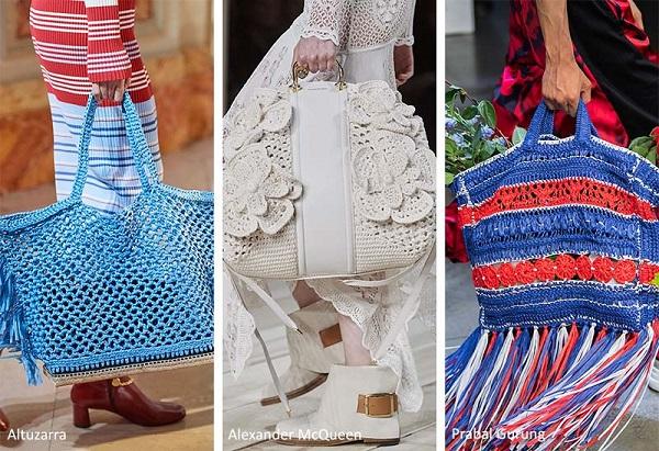 حقائب الكروشيه لصيف 2020