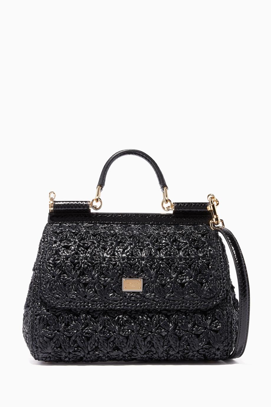 حقائب القش من دولتشي اند غابانا Dolce &Gabbana
