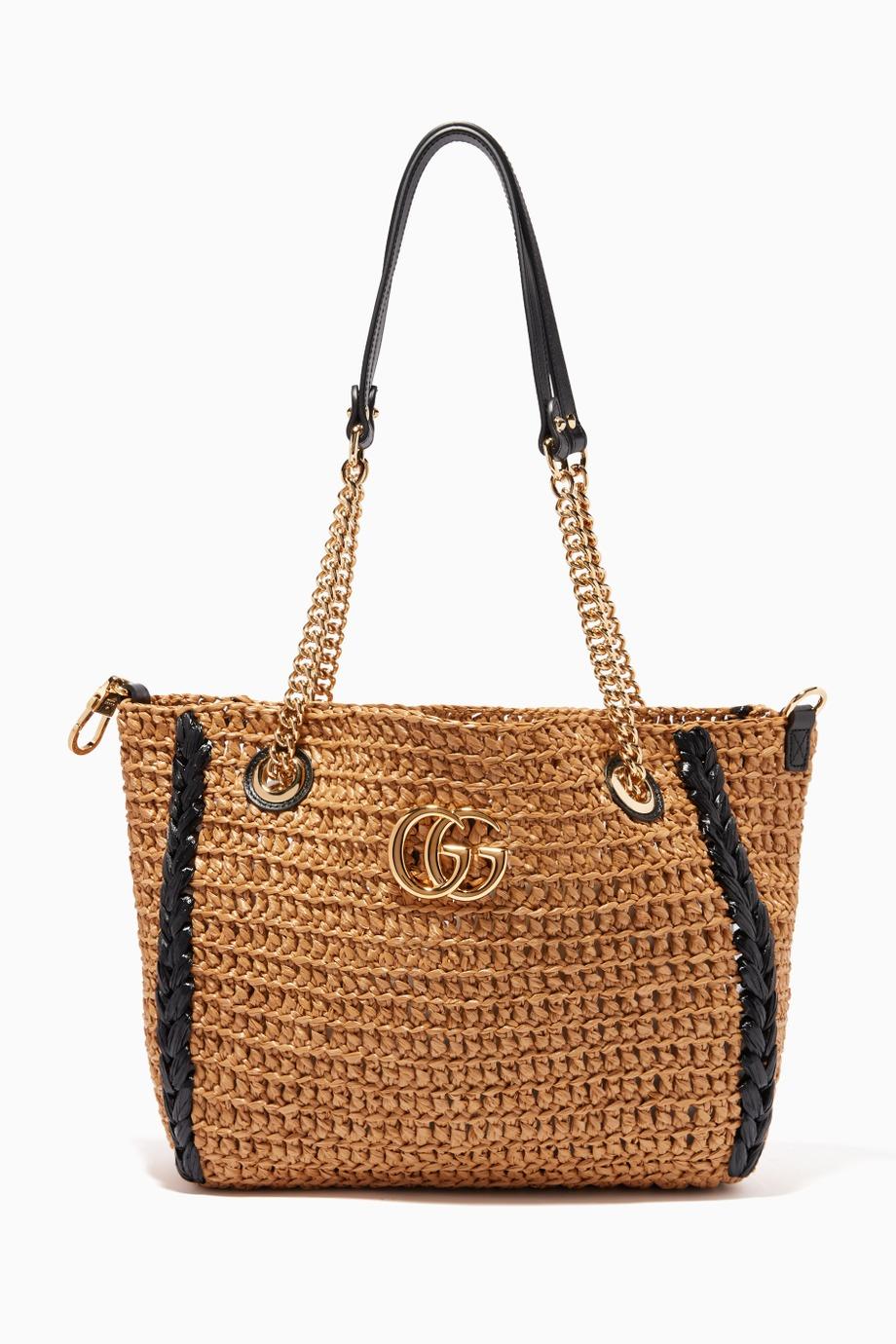 حقائب القش من غوتشي Gucci لصيف 2019