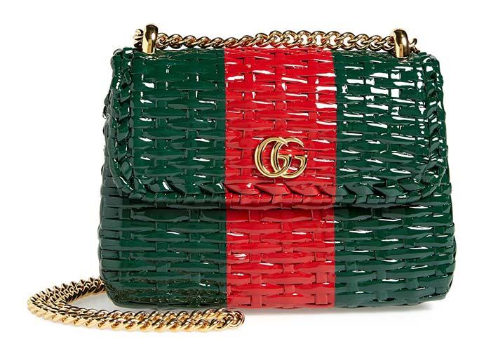 حقيبة قش من غوتشي Gucci