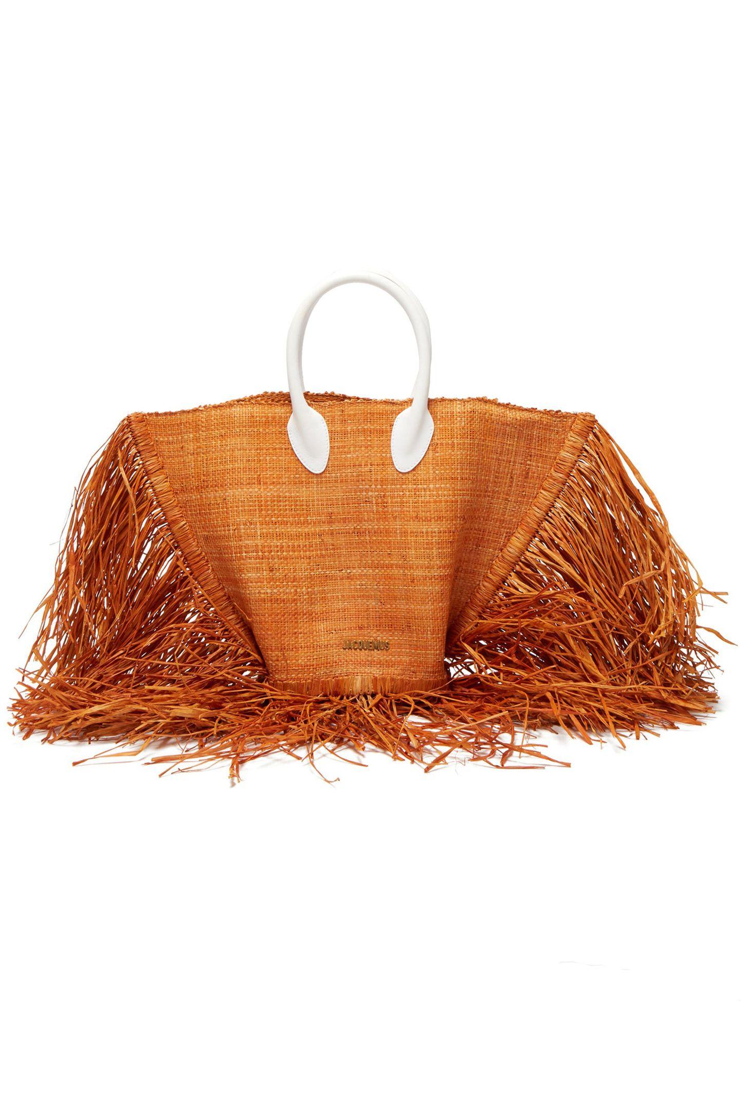 حقيبة قش من جاكموس Jacquemus