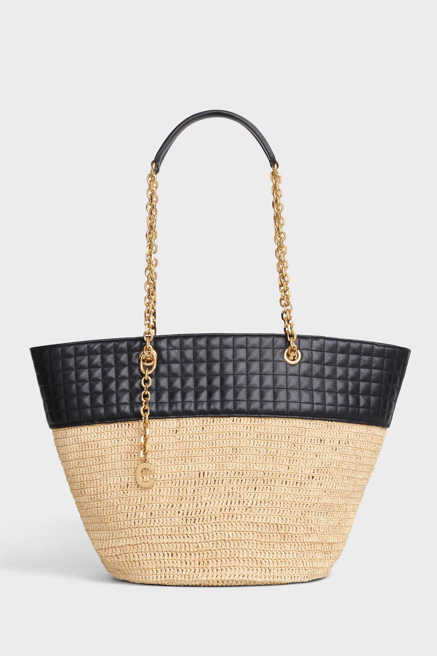 حقيبة قش من سيلين Celine