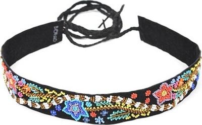 حزام نسائي رفيع مزين بالخرز من بورو