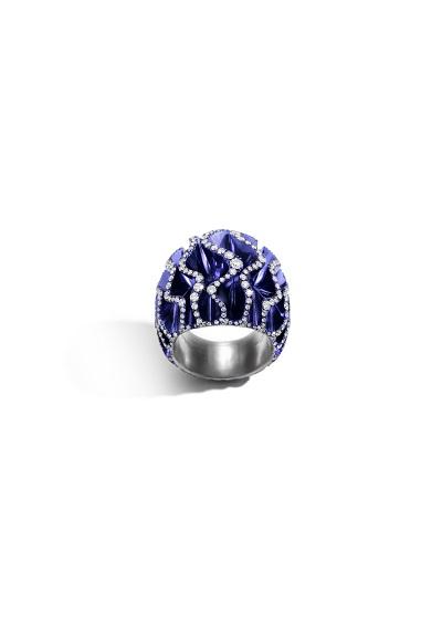 خاتم Blue Velvet  من علامة فرنييه Vhernier