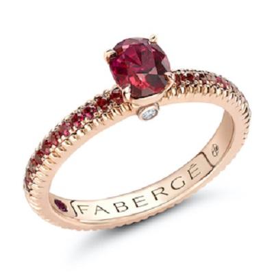 خاتم Colours of Love من دار فابرجيه Fabergé