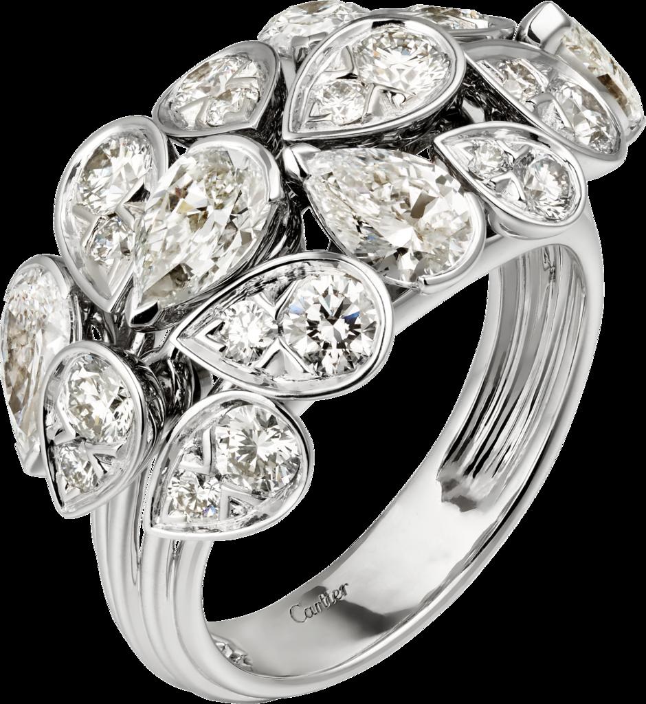خاتم الماس من كارتييه Cartier