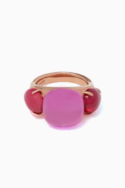 خاتم ملوّن من دار بوميلاتو Pomellato