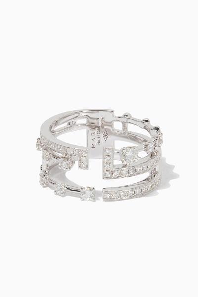 خاتم من الماس والذهب من مارلي Marli