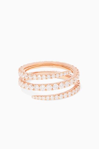 خاتم من الماس والذهب من أنيتا كو Anita Ko