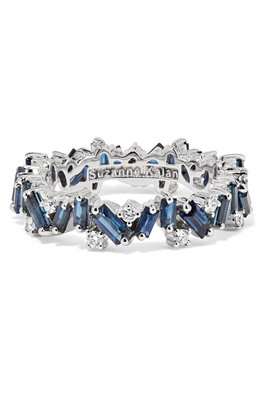 خاتم من الماس والياقوت من سوزان كالان Suzanne Kalan