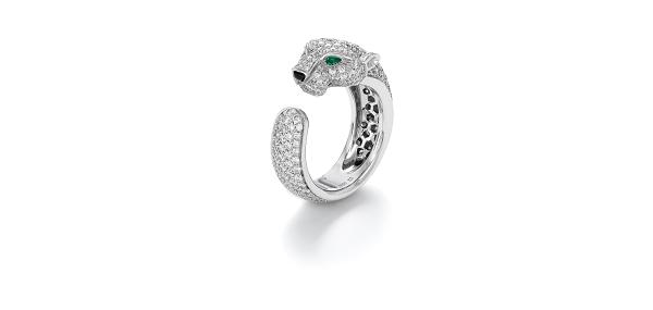 خاتم Panthere de Cartier  من كارتييه