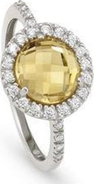 خاتم صوفيا باللونين الفضي والأصفر من نومنيشين