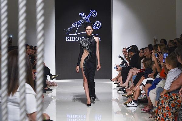 عربيفستان من تصميم كيبوفسكايا خلال اسبوع الموضة العربي