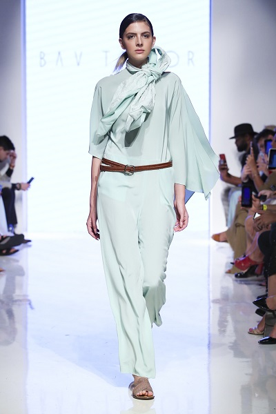 من مجموعة باف تايلور خلال اسبوع الموضة العربي