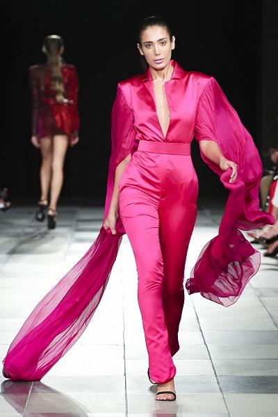 من تصاميم ميخائيل شمعون خلال اسبوع الموضة العربي8