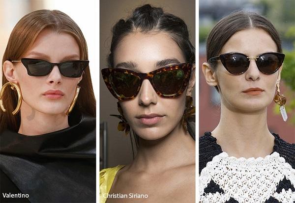 نظارات شمسية بقصّة عيون القطة  Cat Eyes